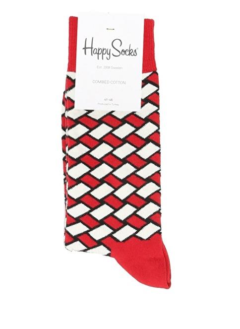 Happy Socks Çorap Kırmızı